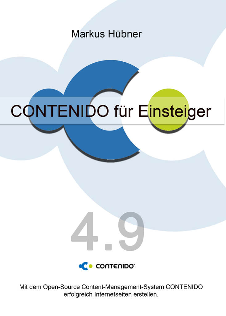 Cover Handbuch Contenido für Einsteiger Version 4.9